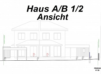 Stadtrandlage Rasenflächen Doppelcarport - Hochwertige Doppelhaushälften bzw.Garten Maisonett