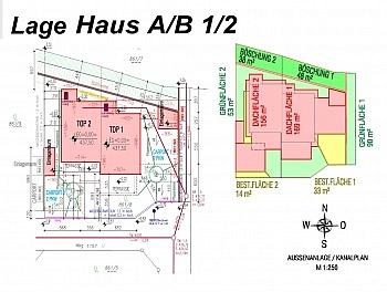 Raumaufteilung Stiegenaufgang Stadtrandlage - Hochwertige Doppelhaushälften bzw.Garten Maisonett