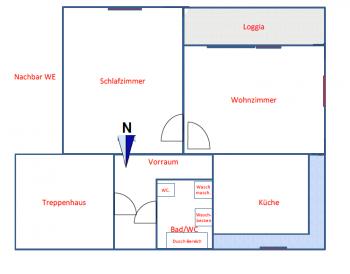 - Tolle 2 Zi Whg 50m² + Balkon-Krumpendorf Seenähe