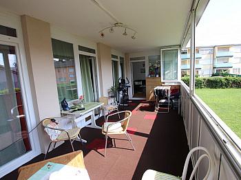 verglaster Südloggia Wohnhausanlage - Tolle 4 Zi Wohnung 140m² mit XXL Loggia - Feschnig