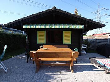 vollmöbliert Strauchschere Außenbereich - Kleines Wohn-/Ferienhaus direkt an der Sattnitz