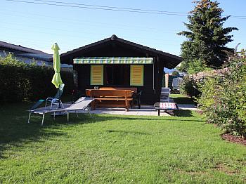 gegenständlichen Seeliegenschaften Küchengeräten - Kleines Wohn-/Ferienhaus direkt an der Sattnitz