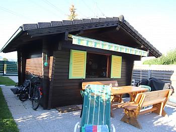 Bebauungsplan vollmöbliert Außenbereich - Kleines Wohn-/Ferienhaus direkt an der Sattnitz