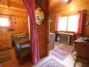 Liebhaberei sämtlicher Gerätehaus - Kleines Wohn-/Ferienhaus direkt an der Sattnitz