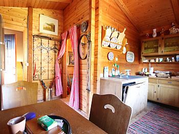 Eingangstor Rasenmäher Werkezeuge - Kleines Wohn-/Ferienhaus direkt an der Sattnitz
