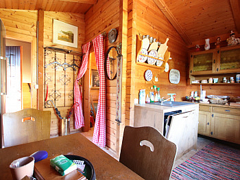 gepflastert Eingangstor Rasenmäher - Kleines Wohn-/Ferienhaus direkt an der Sattnitz