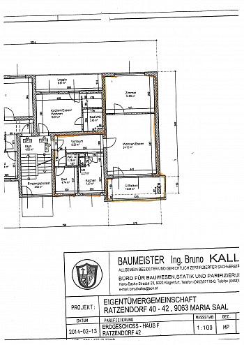 - Schöne 2 Zi Whg. 60m² in Maria Saal - Ratzendorf