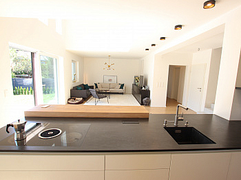 Westterrasse Obergeschoss Doppelgarage - Neues schönes 145m² Wohnhaus - Nähe Viktring