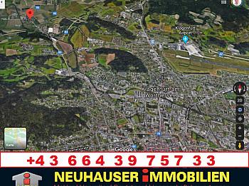 Autobahnanschluss Landeskrankenhaus Autobahnauffahrt - Tolle hochwertige Doppelhaushälften in Lendorf