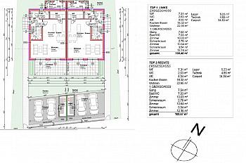 Raumaufteilung mitzugestalten Doppelhäusern - Tolle hochwertige Doppelhaushälften in Lendorf