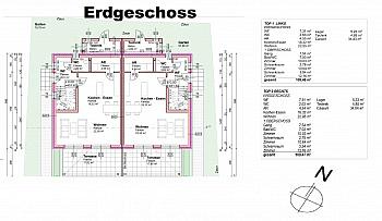Außenflächen Bauausführung Fachverglasung - Tolle hochwertige Doppelhaushälften in Lendorf