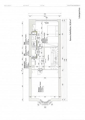 Küche sofort helle - 2 ZI BÜRO/Wohnung in der Stadt-Bahnhofstrasse