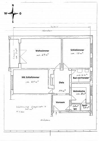 - 3 Zi Wohnung 104m² mit Carport in Waidmannsdorf