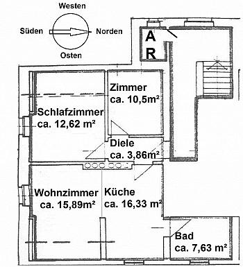 Innenhof Apotheke Schöner - Gepflegte 3 Zi Wohnung in der Billrothstrasse