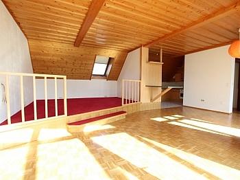 Dachterrasse inkl Südbalkon - Tolle sonnige 150m² Penthousewohnung in Klagenfurt