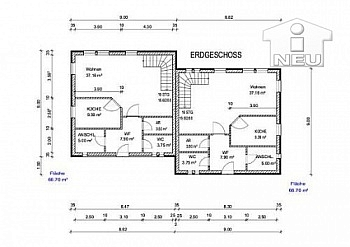Neubau Lage Mehrfamilienhäuser - Junges Wohnen in Moosburg - Ratzenegg