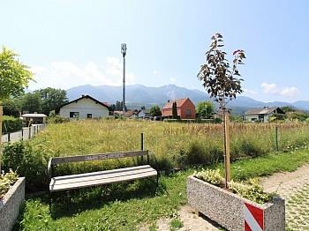 Apotheke direkt Grundstücksgrenze - Sonniger Baugrund direkt bei der Apotheke Faak