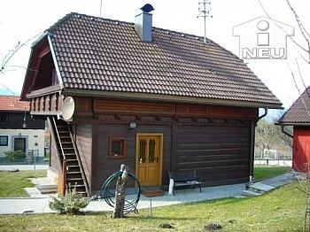 unbekannt Holzhaus Lage - Schönes Holzhaus am Radweg - nähe Feldkirchen