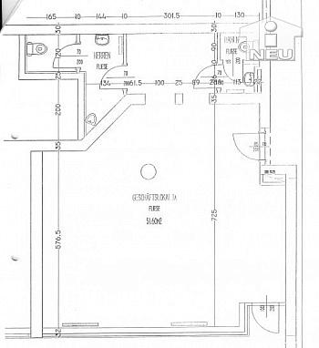 Nebenraum Parkhaus großen - 65m² Büro am Völkermarkter Ring