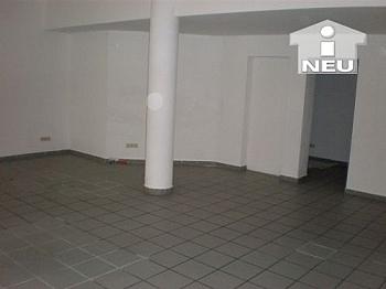Völermarkter Schaufenstern Fliesenböden - 65m² Büro am Völkermarkter Ring