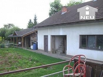 Rohzustand Vorraum Küche - Günstiges Wohnhaus in Pubersdorf - Grafenstein