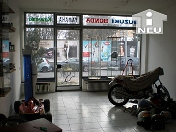 Geschäftslokal Geschäftsraum Abstellplätze - 44m² Büro/Geschäftslokal - Pischeldorferstrasse