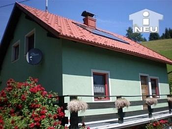 neue Biopflanzenkläranlage Holzisolierglasfenster - Ferienhaus in Diex - Seehöhe 1200m