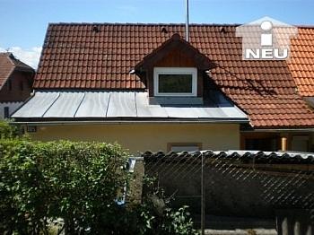 Teilunterkellert Nebengebäude Fliesenböden - Singlewohnhaus 55m² Wfl. in Feschnig