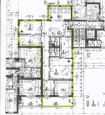 Vorraum Heizung umbauen - TOP 125m² - 5 Zi Büro/Wohnung Uni Nähe