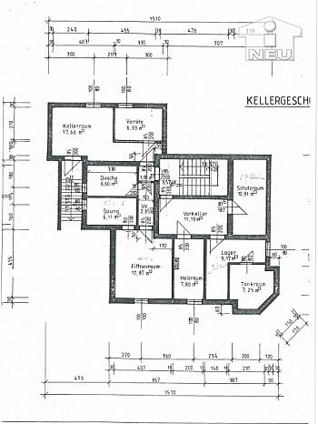 eigene Dusche Holzisolierglasfenster - Schönes Wohnhaus/Zinshaus in Klagenfurt