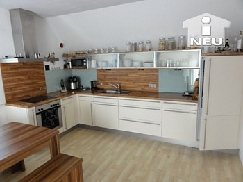 Dachgeschoss Küche Stock - Sonnendurchflutete 4 Zi Maisonetten-Wohnung in Waidmannsdorf