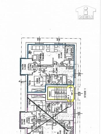 Wohnung großes Laminat - Sonnendurchflutete 4 Zi Maisonetten-Wohnung in Waidmannsdorf
