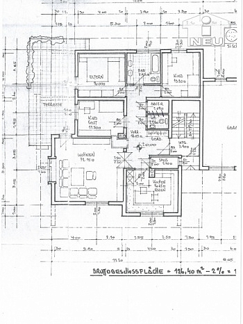 inkl Wohn  - Schöne 122m² 4 Zi Gartenwohnung in Annabichl