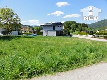 Strassenbeitrag Zufahrtsstrasse Baugrundstück - Wunderschöne Eckparzelle mit 1.000m² in Maria Rain