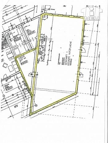 Fernwärme Büroraum Nebenraum - TOP 170m² Geschäftslokal Nähe St. Veiter Ring