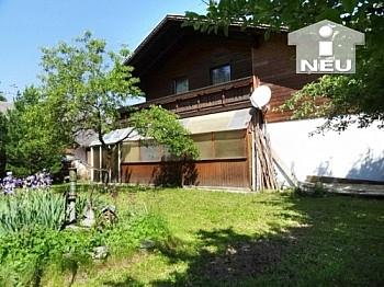 Einbaumöbeln Fliesenböden unterkellert - Schönes Landhaus Nähe Moosburg