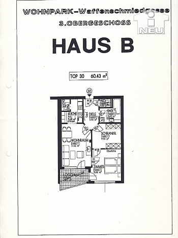 Heizung Vorraum Ärzte - 2 ZI - Wohnung in Waidmannsdorf all inklusive