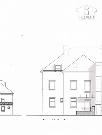 Kellerabteil Garagenplatz einbringbar - Dachgeschoss Roh-/Neubau in exklusiver Wohngegend