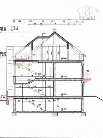 Rohbaupreis inkludiert Kreuzbergl - Dachgeschoss Roh-/Neubau in exklusiver Wohngegend