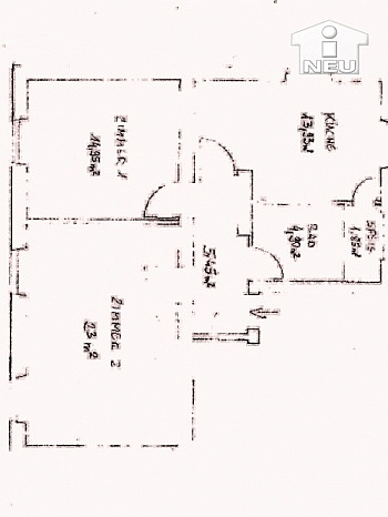 Stromheizung Stellplätze ausgestattet - Sonnendurchflutete 2-Zimmerwohnung in Welzenegg