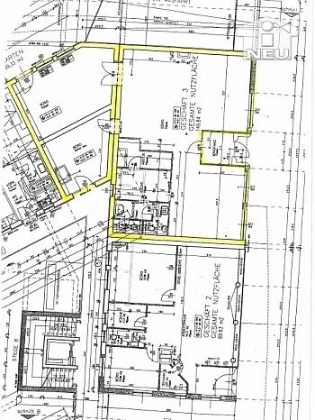nutzbar großer Vorraum - TOP 147m² Geschäftslokal/Büro Nähe St. Veiter Ring