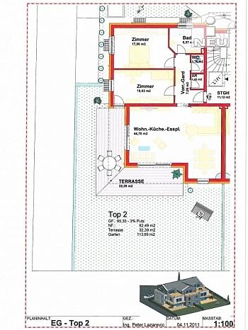Flächenangaben Kleinwohnanlage Betriebskosten - Kleinwohnanlage mit 5 Wohnungen in Klagenfurt