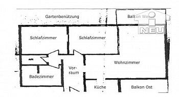 Merkurmarkt Abstellraum Holzfenster - Notverkauf! Annabichl - Schöne Eigentumswohnung
