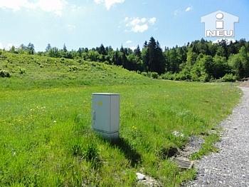 Baugrundstücke Zufahrtsstrasse Strassenbeitrag - Günstige schöne Baugründe ab 700m² in Köttmannsdorf - Aich