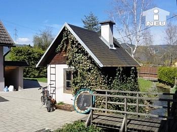 Generalsaniertes Nebengebäude Nebenwohnhaus - Liebevoll saniertes kleines Wohnhaus am Bach in Liebenfels