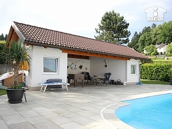 Heizung Markise Ablöse - 1 A Zustand!! Traumhaftes Wohnhaus mit Pool und Pool-Haus Nähe Klagenfurt