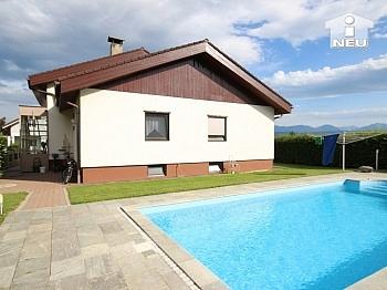 Pool Haus Grundstück - 1 A Zustand!! Traumhaftes Wohnhaus mit Pool und Pool-Haus Nähe Klagenfurt