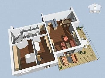 Klagenfurt Leistungsbeschreibung Wohnbaugefördert - Neue 92m² Terrassenwohnung in der Waldmüllergasse
