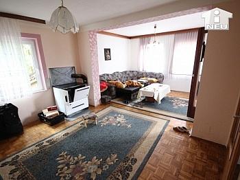 Teilkeller vorhanden Fernblick - Günstiges Wohnhaus in Ludmannsdorf