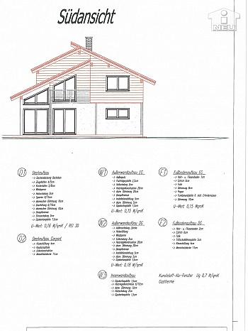 Küche Rollos außen - Neues modernes 114m² Wohnhaus in Viktring